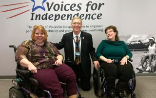Mayor Schember Stops By Voices